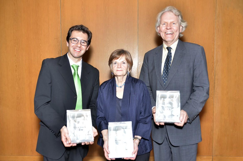 Dr. Matias Margulis, Dr. Ann Dale, and Dr. Michael Prince